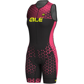 Alé Cycling Triathlon Rush Dames roze/zwart